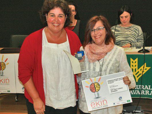TippTopp, primer premio Ideas Empresariales Ekin 2014