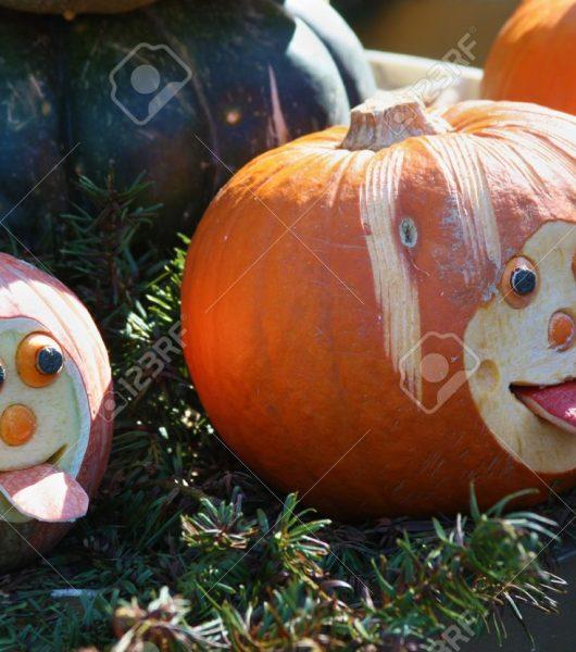 Halloween potencia la Kürbiszeit o
