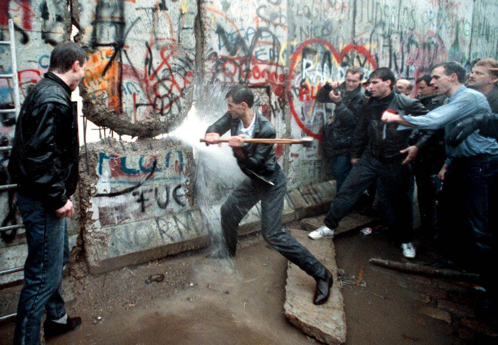 27  años  de  la  caída  del  Muro  de  Berlín