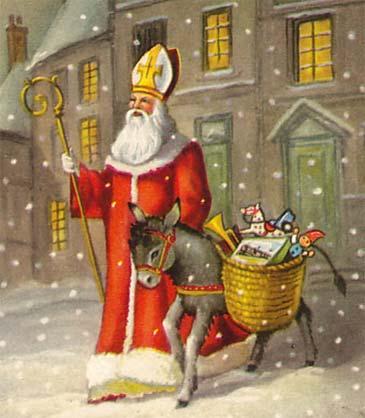 Nikolaustag,  el  día  de  San  Nicolás