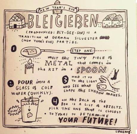 Bleigießen: Prepárate para adivinar en Nochevieja qué te depara el 2017