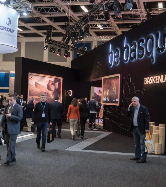Turismo de Euskadi se promociona en la Feria ITB de Berlín, que hoy cierra sus puertas