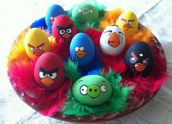 Eilandung:  este  sábado  decoramos  los  huevos  de  pascua
