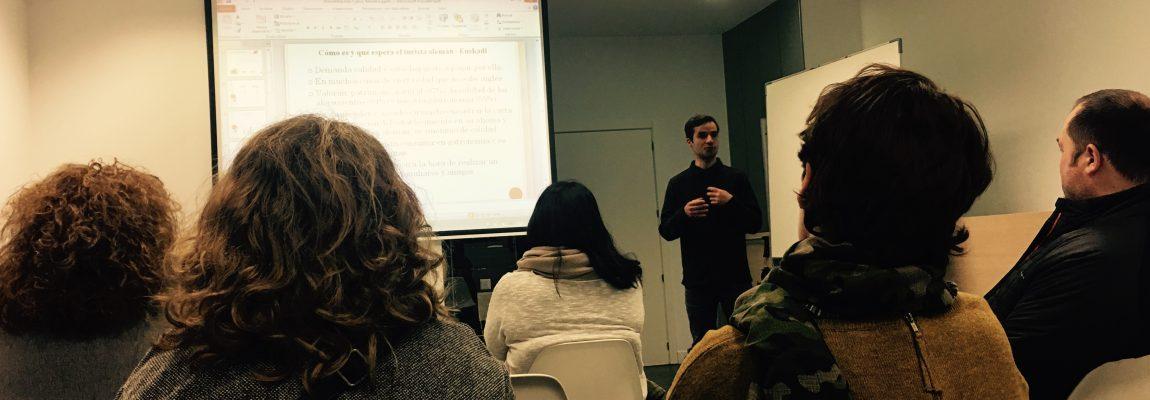 """Presentación  del  curso  de  24  horas  """"Alemán  básico  para  hostelería"""""""