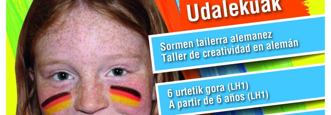 Udaleku en julio: Alemán + Creatividad
