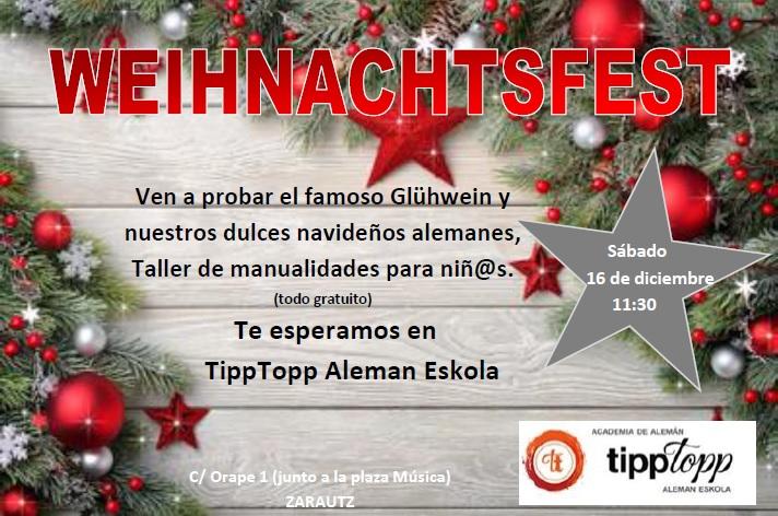 Fiesta De Navidad Ven A Saborear Las Tradiciones Alemanas