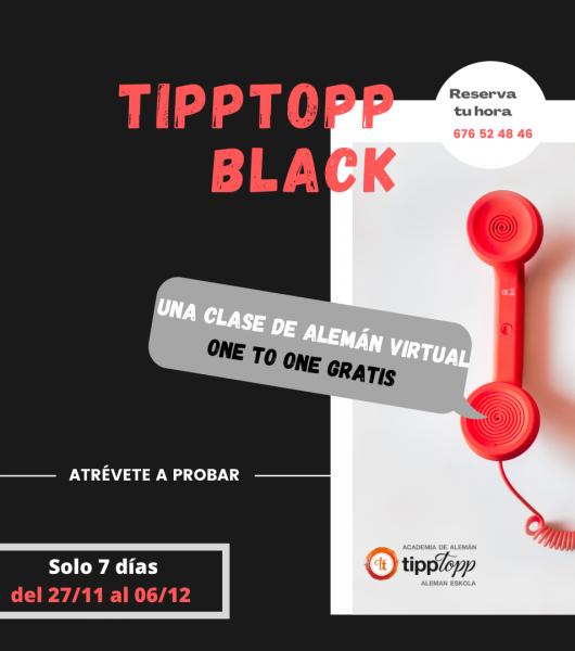 😎 TippTopp Black - CLASE DE ALEMÁN VIRTUAL GRATIS 😎