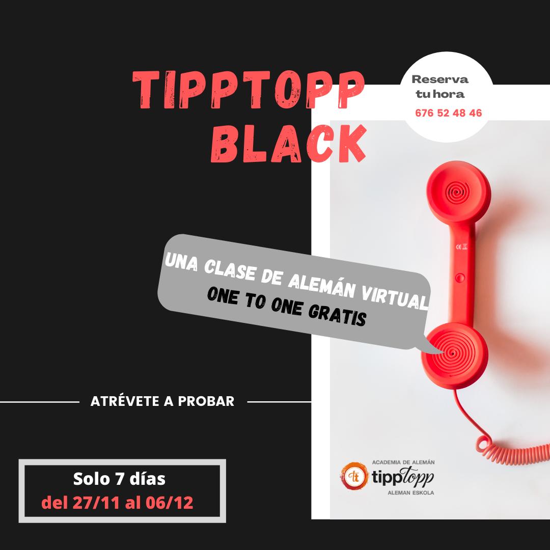 😎  TippTopp  Black  –  CLASE  DE  ALEMÁN  VIRTUAL  GRATIS  😎