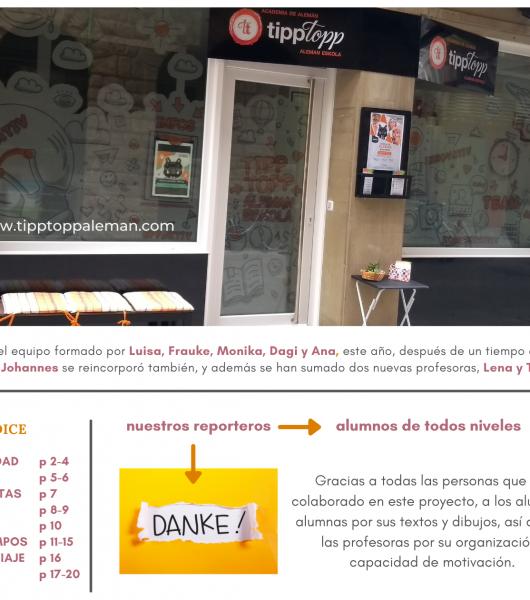 TippTopp Zeitung - el periódico alemán de Zarautz 📰📰
