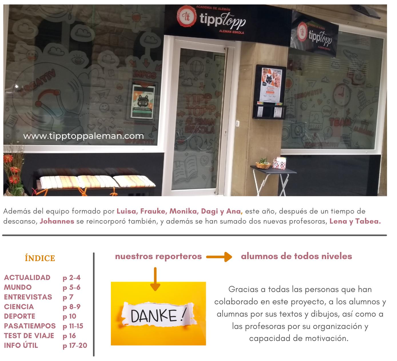 TippTopp Zeitung – el periódico alemán de Zarautz 📰📰